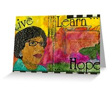 Learning to Keep HOPE Alive Greeting Card