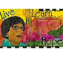 Learning to Keep HOPE Alive Photographic Print