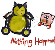 Kirby used suck! Nothing happened by linwatchorn