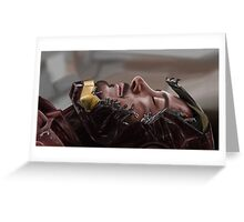 The Fallen Hero Greeting Card