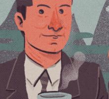 """Good Damn Cup of Coffee"" Sticker"