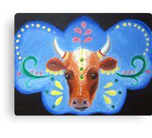 Bollywood Cow Canvas Print