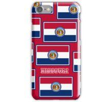 Smartphone Case - State Flag of Missouri - Horizontal V iPhone Case/Skin