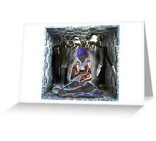 Ecce Homo 137 - BIG DATA Greeting Card