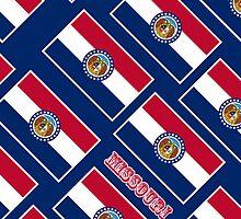 Smartphone Case - State Flag of Missouri - Diagonal II by Mark Podger