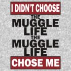 The Muggle life chose me by Happy Little Accidents