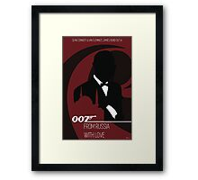 James Bond - From Russia With Love Framed Print