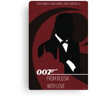 James Bond - From Russia With Love Canvas Print