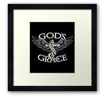 God's Grace Framed Print