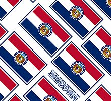 Smartphone Case - State Flag of Missouri - Diagonal III by Mark Podger