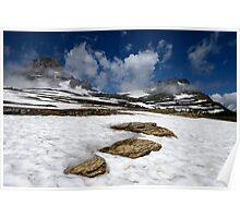 Glacier Stepping Stones Poster