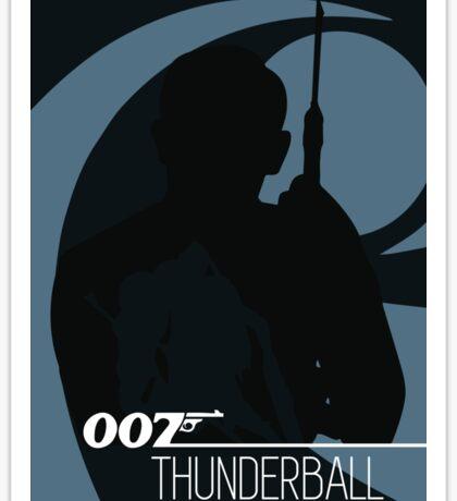 James Bond - Thunderball Sticker