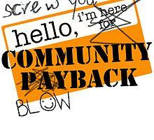 community BLOWBACK. by J-something