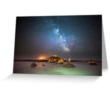 Milky Way at the Mount Greeting Card
