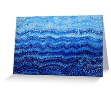 Sea & Sky original painting Greeting Card