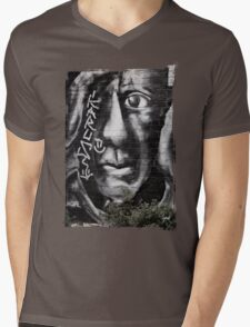 Peering Into The Future Mens V-Neck T-Shirt