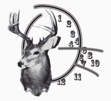 Will Graham Clock w/Deer by taxdollars