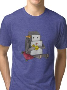 Boop the Robot: My Little Friend Tri-blend T-Shirt