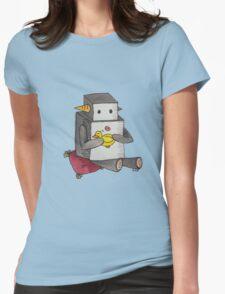 Boop the Robot: My Little Friend Womens Fitted T-Shirt