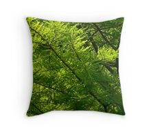 The Tree ID'd as Cypress  Throw Pillow