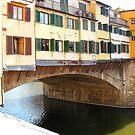 The Ponte Vecchio by Fara