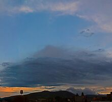 ©HCS Cloudscape And Tower With Cirrus by OmarHernandez