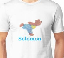 Solomon with Grizzly Yoga Bear Unisex T-Shirt