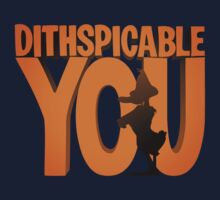 DITHSPICABLE YOU Kids Clothes