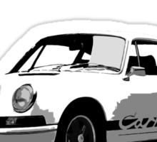 Porsche 911 Carrera RS 2.7 Sticker