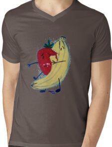 Fruit Zombies Mens V-Neck T-Shirt