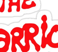 The Warriors Sticker