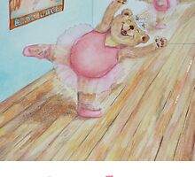 Scarlett Ballet Bear by Monica Batiste