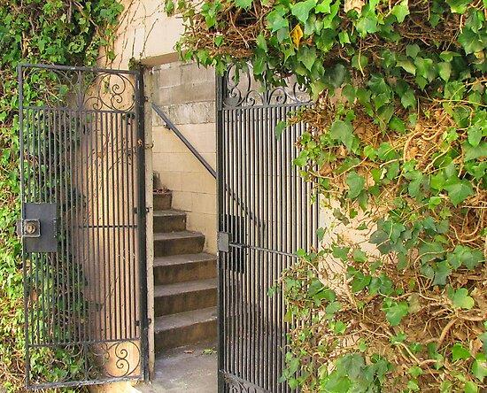 Courtyard IV by Lauren Steinhauer