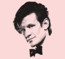 11th Doctor Retro Style Kids Tee