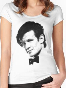 11th Doctor Retro Style Women's Fitted Scoop T-Shirt