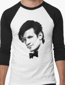 11th Doctor Retro Style Men's Baseball ¾ T-Shirt