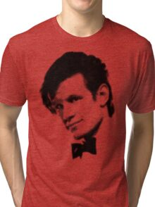 11th Doctor Retro Style Tri-blend T-Shirt