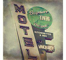 Bayshore Motel Photographic Print