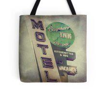 Bayshore Motel Tote Bag