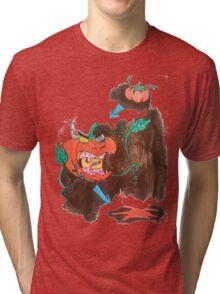 Killer Tomato Evolution Tri-blend T-Shirt