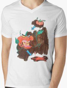 Killer Tomato Evolution Mens V-Neck T-Shirt