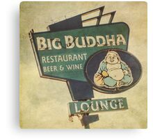 Big Buddha Lounge Canvas Print