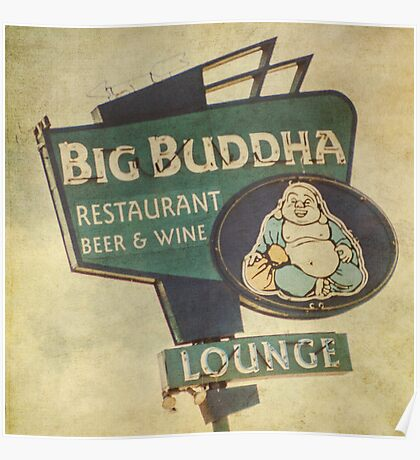 Big Buddha Lounge Poster