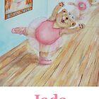 Jada Ballet Bear by Monica Batiste