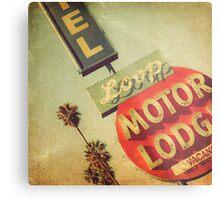 Loop Motel Metal Print