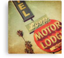 Loop Motel Canvas Print