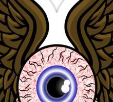Flying Eye Bones Sticker