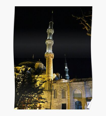 The Minarets of Istanbul Poster
