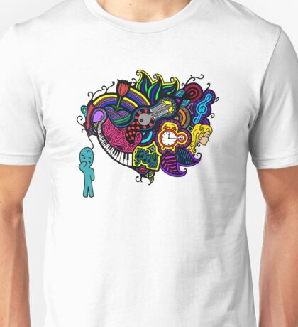 Just a Thought (Colour) Unisex T-Shirt