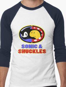 Sonic & Shuckles Men's Baseball ¾ T-Shirt